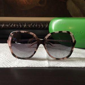 Kate Spade Jonell Tortoise Frame Sunglasses